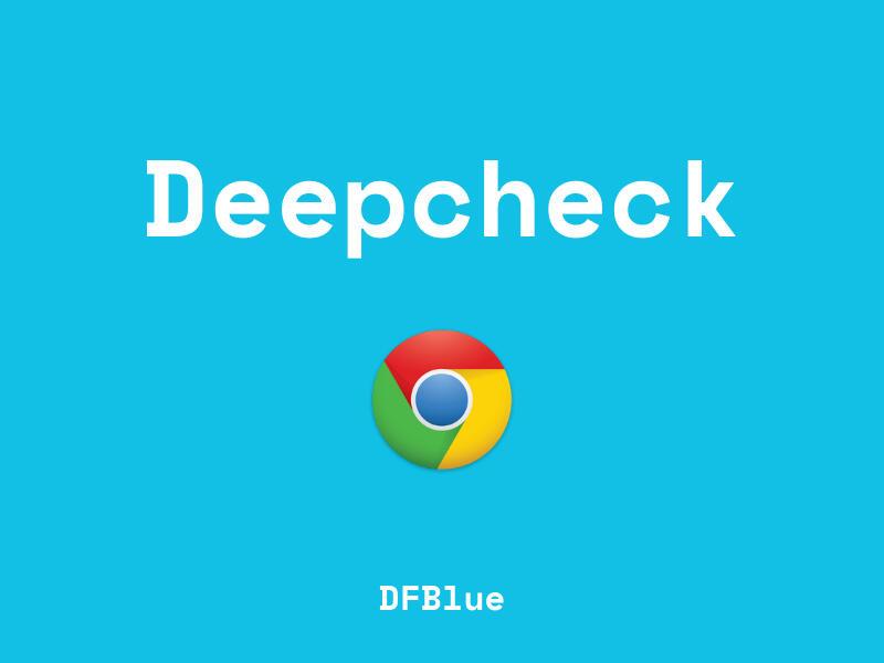 Deepcheck by DFBlue